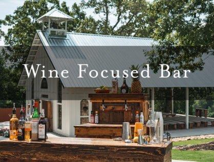 Wine Focused Bar