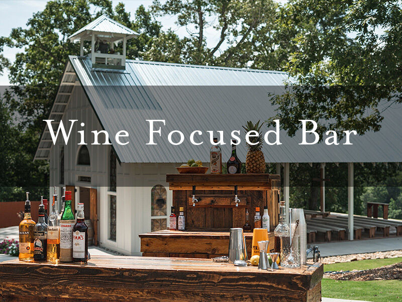 Wine Focused Bar